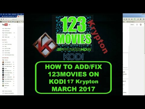 Install and Fix 123Movies on Kodi 17 Krypton Mucky Duck March 2017