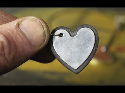 Tiny Wood and Metal Hearts - Made of Reclaimed & Scrap, of course
