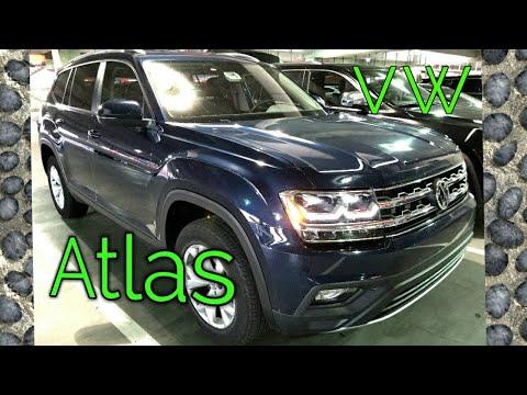 2018 VW Atlas SE V-6 Start-up, Exhaust Rev & Interior View