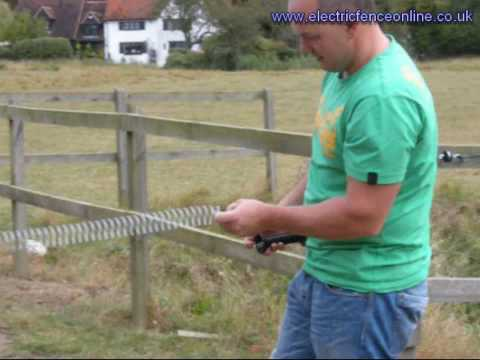 Electric Fence Spring Gate