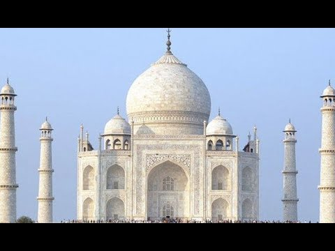 Cleaning The Taj Mahal: Bleaching clay applied to marble structure