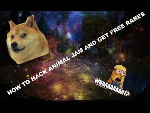 HOW TO HACK ANIMAL JAM AND GET FREE RARES