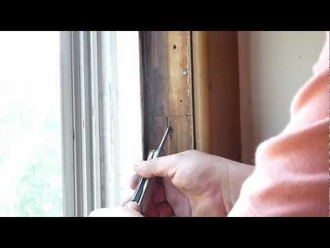 Repairing Sash Cords