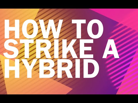 How to hit your Golf Hybrid