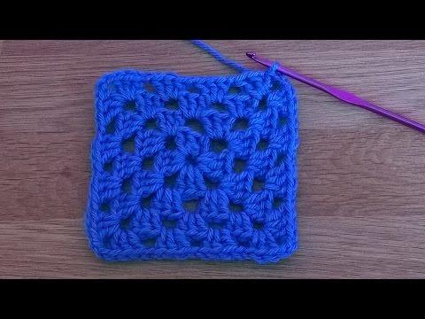 Basic Granny Square - Crochet Tutorial for Beginners