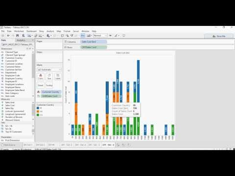 Tableau - Do it Yourself Tutorial - Histograms using Bins - DIY -6-of-50