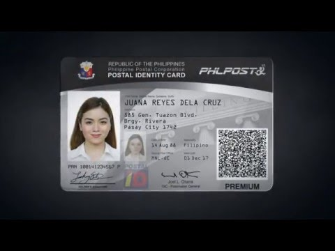 PHLPost Inroduces Improved Postal ID