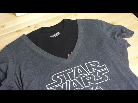T-shirt Neck Alteration | NERDI crafts