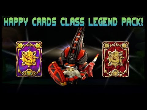 Class Legends Card Pack! [Happy Dungeons]
