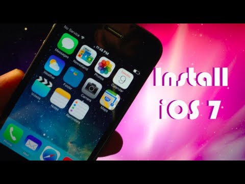 How to Install iOS 7 for FREE on iPhone 5/4S/4, iPod Touch 5G, iPad 2/3/4 Mini!