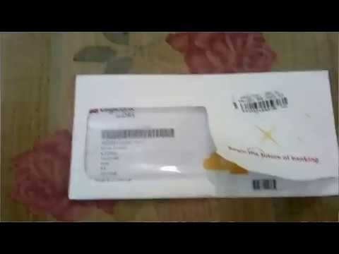 DBS bank card activating and unboxing