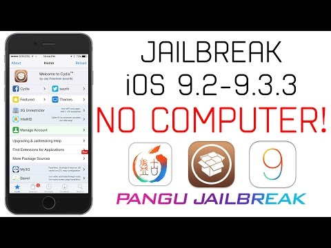 How to Jailbreak iOS 9.2 - 9.3.3 Without a Computer! -PanGu Jailbreak for iPhone, iPad & iPod Touch!