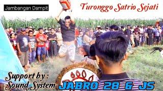 Kuda Lumping Turonggo Satrio Sejati Support By Sound Jabro 28 & Js