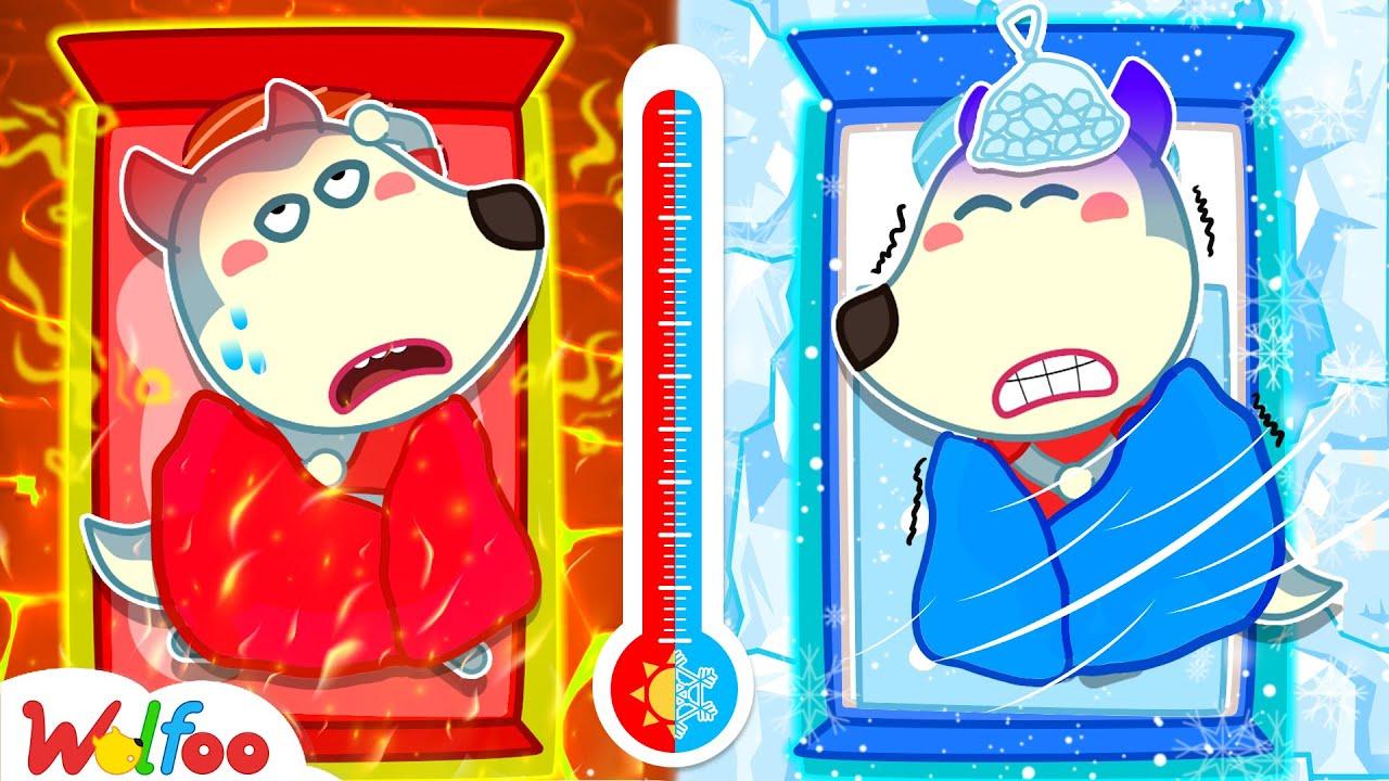Wolfoo Got Sick Hot or Cold? - Wolfoo Learn Healthy Habits for Kids | Wolfoo Family Kids Cartoon
