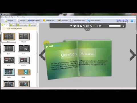 How to create digital flipbook publications from PPT