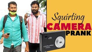 Water Squirting Camera Prank Part 2 | Latest Telugu Pranks | Pranks in Hyderabad 2020 | FunPataka