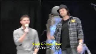 Gold - Owl City A amizade de Jensen e Jared. #Supernatural