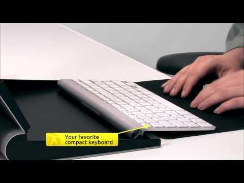 BakkerElkhuizen TabletRiser - mobile tablet holder - How To Video