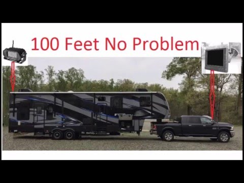 Using The Iball Hitch Cam On My 5th Wheel Magnetic Wireless