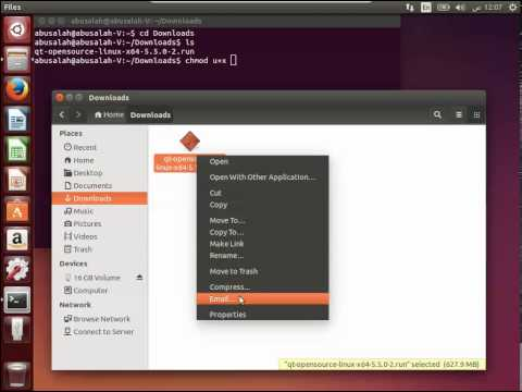 QT Installation On GNU/Linux