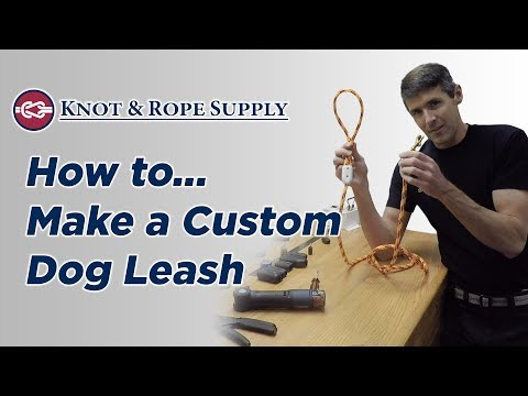 How to Make a Dog Leash with Rope Clamps