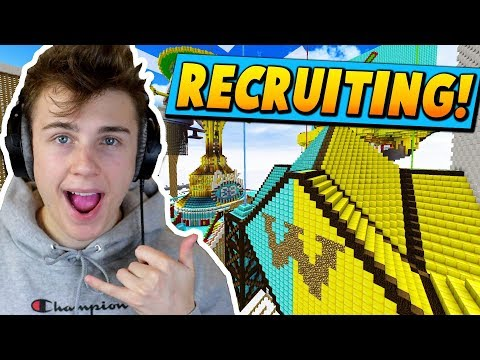THE LAST CHANCE TO JOiN OUR SKYBLOCK iSLAND iS HERE...  ( Minecraft Skyblock )