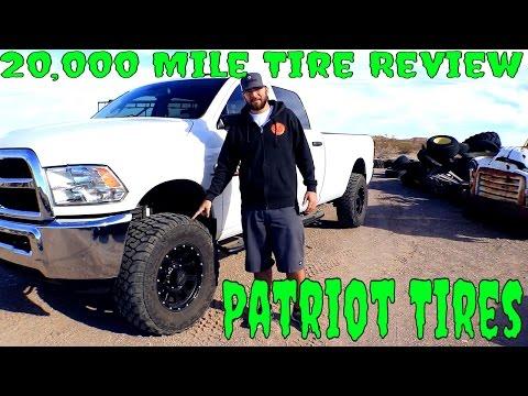 20,000 Mile Patriot Tire's Torque MT Review