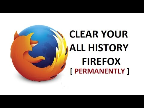 How To Delete History in Mozilla Firefox Permanently | Clear Cache & Cookies