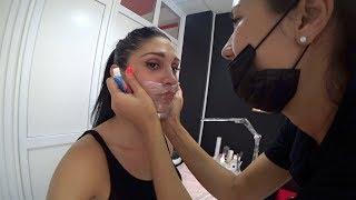 губы перманентный макияж вся процедура