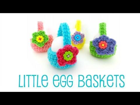 Episode 187: How To Crochet Little Egg Baskets