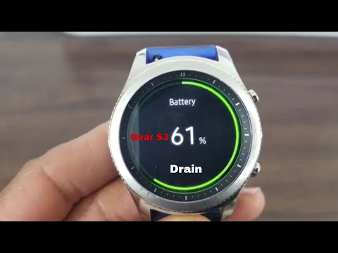 9  Tips To Prolong Battery Life On the Gear S3 (Tizen 3 0 Battery Drain))