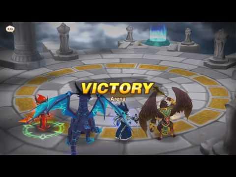 [Summoner War Sky Arena]New Verad [Water Dragon] มังกรน้ำปรับใหม่ โหดสุดๆ