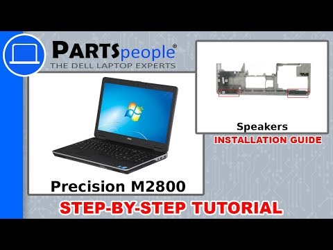 Dell Precision M2800 (P29F001) Speakers How-To Video Tutorials
