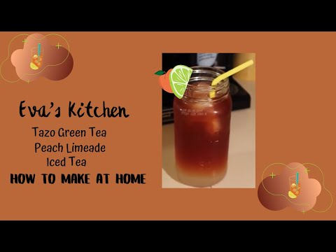 STARBUCKS ICED PEACH GREEN TEA LEMONADE | LADYEMC2TV
