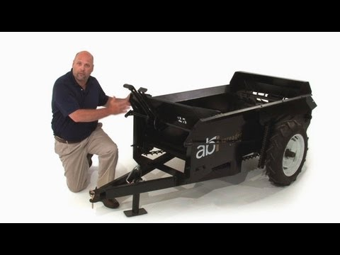 Ground Drive Classic Manure Spreader - Product Details - By ABI