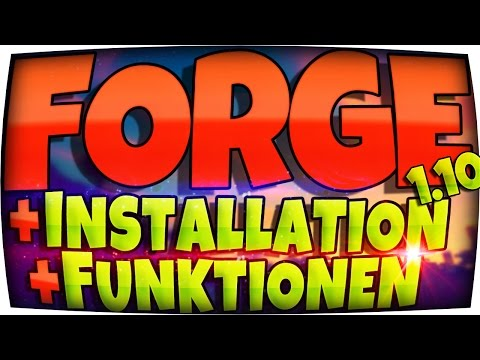 ➤ ➤ ➤ MINECRAFT FORGE 1.12.2 INSTALLIEREN + MODS DOWNLOAD! ◄ ◄ ◄ DEUTSCH | Windows & Mac Installer