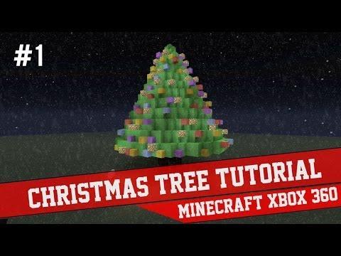 Minecraft Xbox How To Make A Christmas Tree