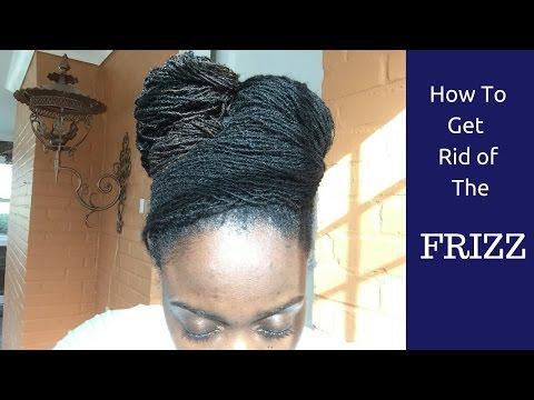 Sisterlocks:Locs How To Get Rid oF Frizz - Frizz Be Gone!!