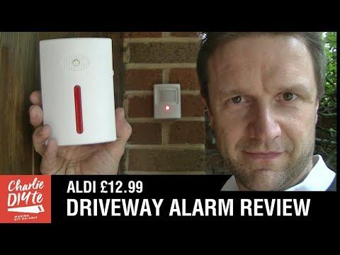 ALDI CHEAP DRIVEWAY ALARM REVIEW