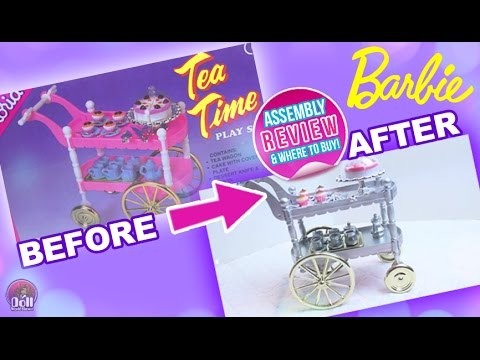 ☕ Barbie Tea Time Play Set by Gloria REVIEW & Assembly