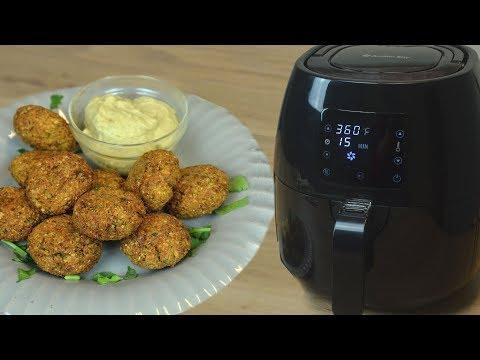 Oil Free Falafel Recipe | Air Fried Falafel | Non Fried Snack
