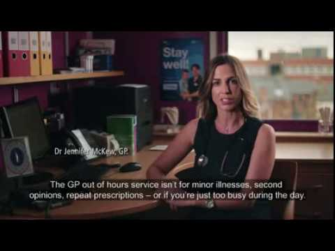 GP Out of Hours   Dr Jennifer McKew