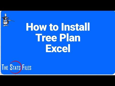 How to Install TreePlan in Excel 2016 - Evans Chapter 11