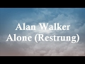 Download  Alan Walker - Alone (restrung) lyric MP3,3GP,MP4
