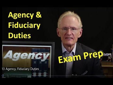 13 Agency, Fiduciary Duties: Arizona Real Estate License Exam Prep