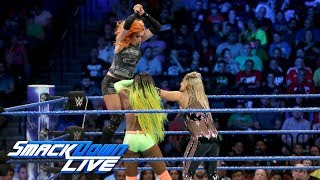 Naomi & Becky Lynch vs. Natalya & Carmella: SmackDown LIVE, Aug. 22, 2017