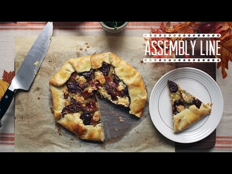 Bacon Blue Cheese & Date Tart | Assembly Line