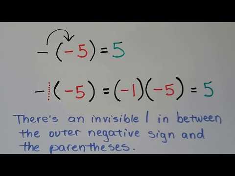 G.E.D. Math 18c, Multiplying & Dividing integers
