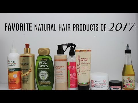 My Favorite Natural Hair Products Of 2017 | Actually Ashly