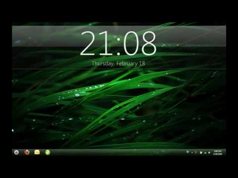 Custom Windows 7 Desktop - Grass